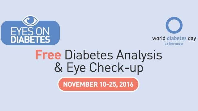 Eyes on Diabetes – November 2016 – National Diabetes Awareness Month
