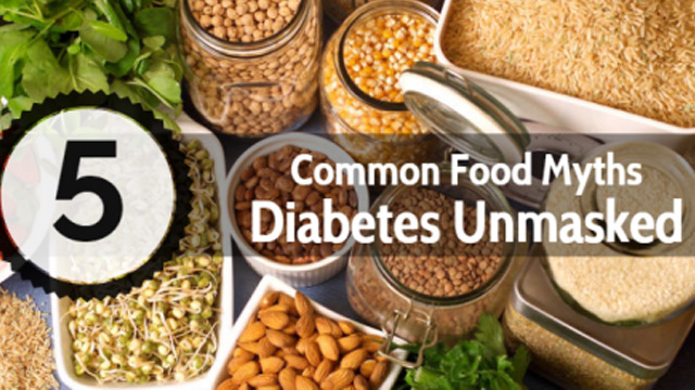 Food Myths for People with Diabetes